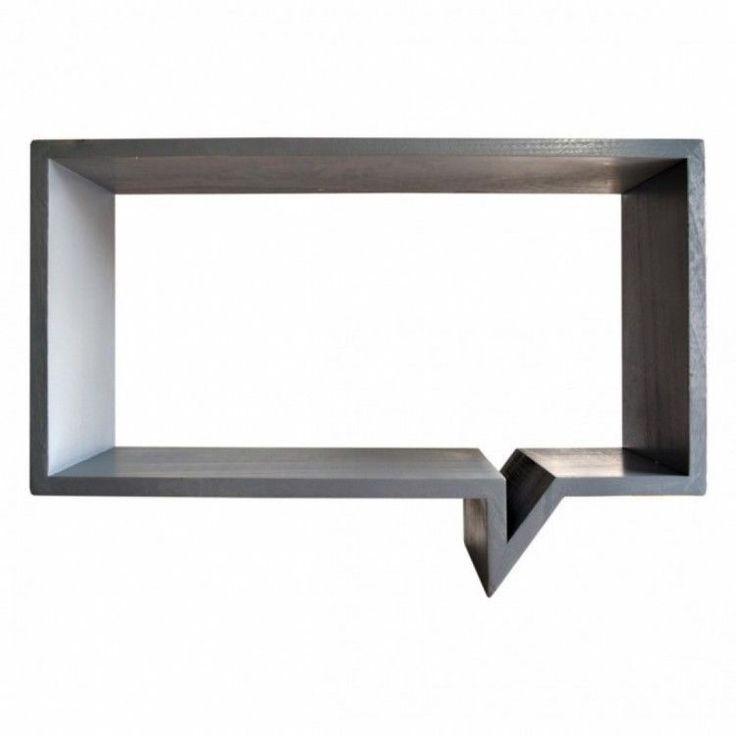 Modern Home Shelving Unit Display Furniture Storage Grey Cartoon Shape Organiser #ModernHomeShelvingUnit #Modern