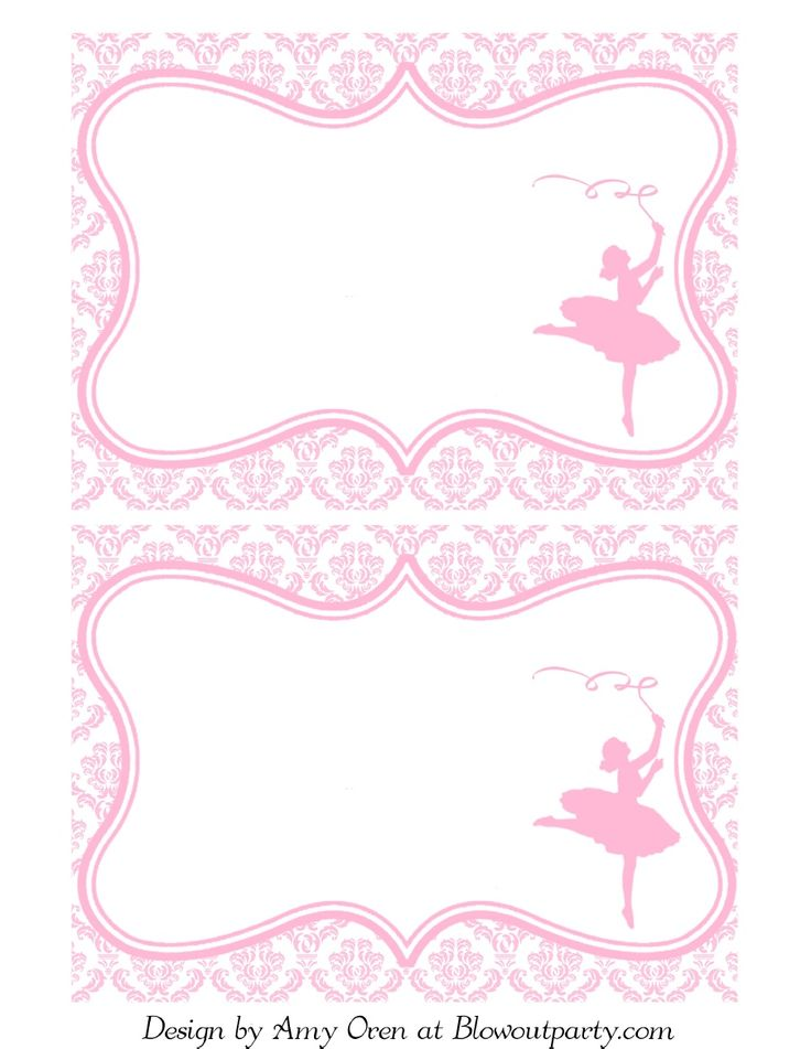Ballerina Party Free Printable Invitation | Scribd