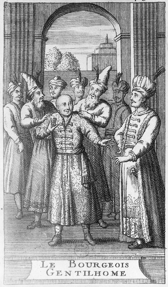Molière, le Bourgeois gentilhomme : la cérémonie turque