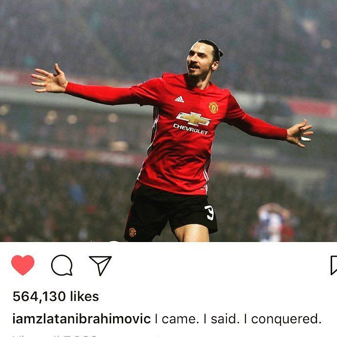 The power of the SPOKEN WORD and FAITH. I AM talk from one of the masters Zlatan Ibrahimovic. What a LEGEND and what a PUMP UP for today!!!! Boom