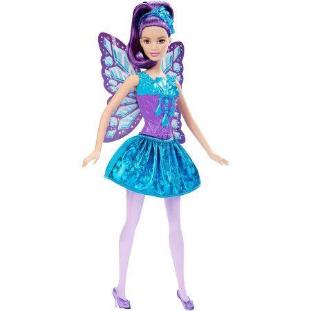 barbie gem fairy doll multicolor