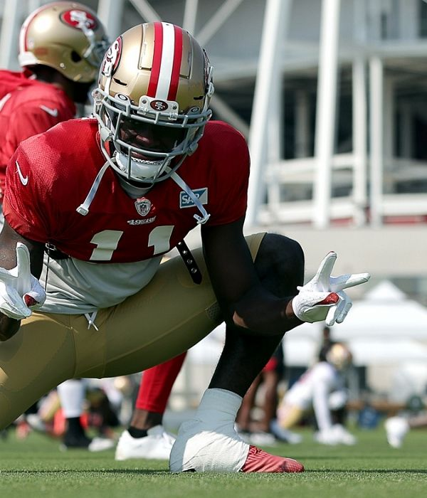 Jeremiah Projects 700 Yards 5 Tds For 49ers Rookie Brandon Aiyuk Wide Receiver 49ers Players Nfl Season