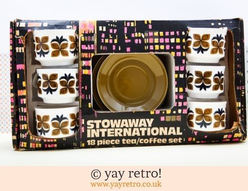 Staffordshire Boxed 70s teaset - I have this in my collection