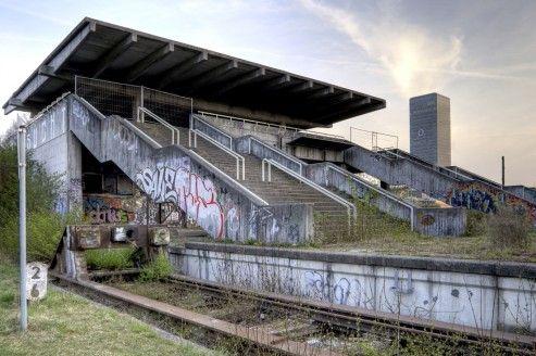 Munich Olympics train station.