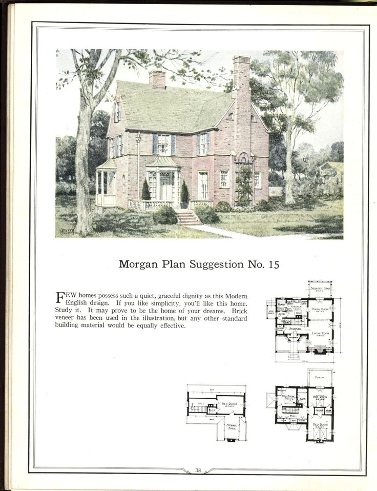 552 best early 20th century house plans images on pinterest