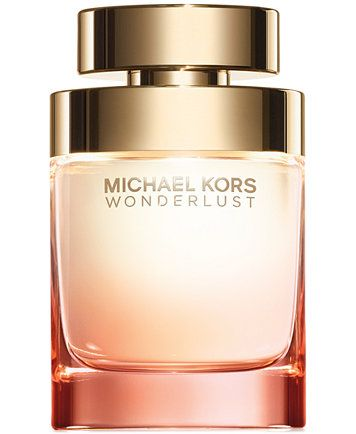 Let desire lead the way. Michael Kors Wonderlust, the new fragrance for women, evokes a lust for life where beauty, spontaneity and sensuality are the ultimate destination. Deeply romantic, it's a ble