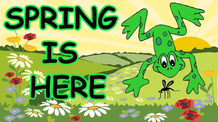 Spring Songs for Children - Spring is Here with Lyrics - Kids Songs by The Learning Station, via YouTube.