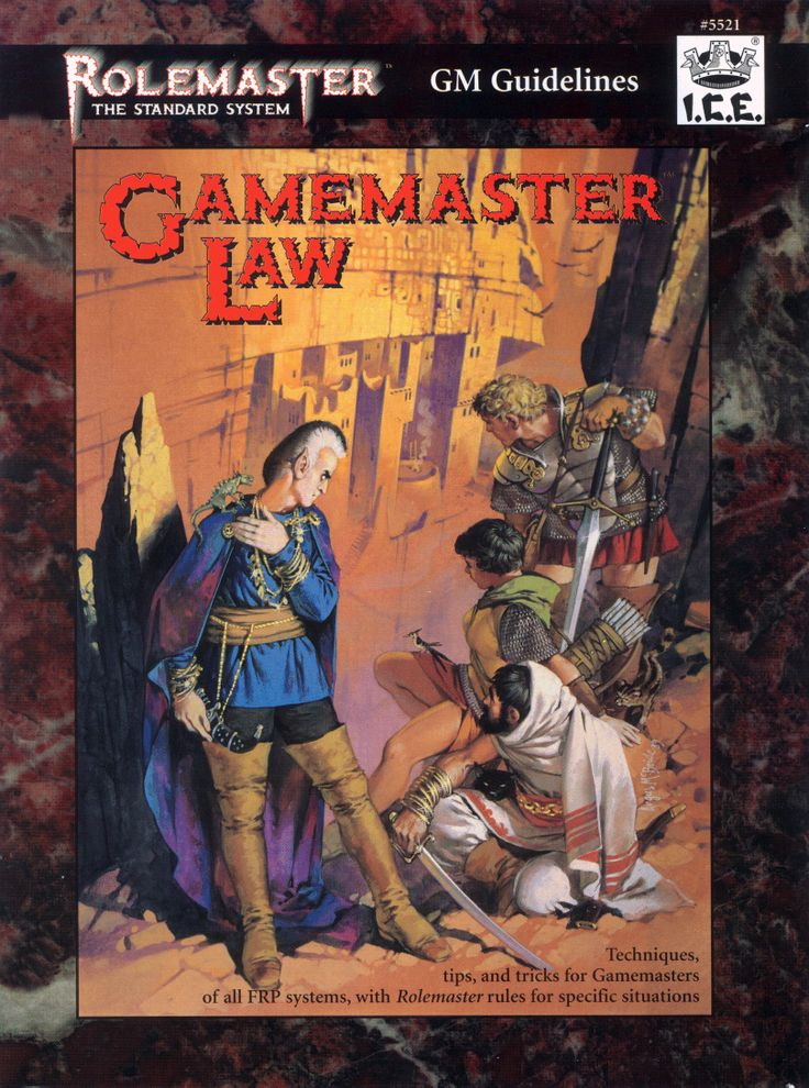 Rolemaster - Gamemaster Law