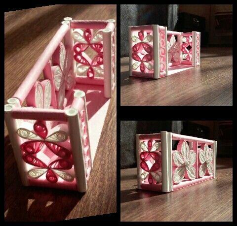 quilling card holder