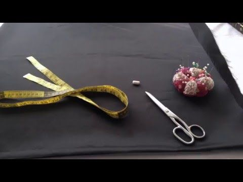 Mi vídeoComo cortar una falda de campana de una pieza