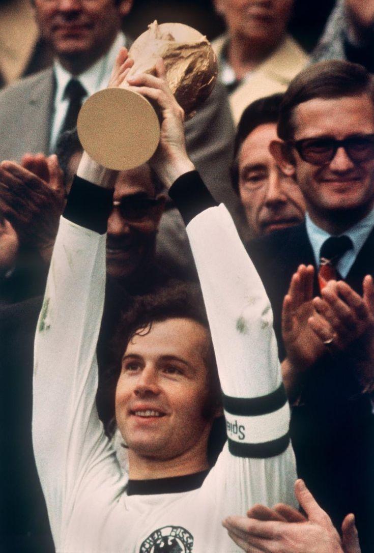 """Futbol   Franz Anton Beckenbauer (nacido en Múnich, Alemania, en1945) Apodado """"El Káiser"""".  By Adolfo Vasquez Rocca"""