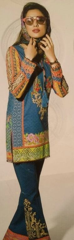 ATTIRES ATTRACTION UNSTITCHED LAWN DRESS EMBRIODERED FRONT AND BACK DAMMAN EMBRIODERED NECK EMBRIODERED SLEEVES BUNCH TROUSER LACE PRINTED CHIFFON DOPATA 4 (USD0004). Price: Pakistani Rupee (PKR) 2200. Facebook: https://www.facebook.com/commerce/products/1329166733798785/ Google+: https://plus.google.com/u/0/collection/8snKOE