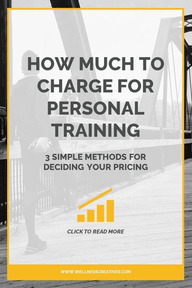 Personal Trainer Prices Pinterest New