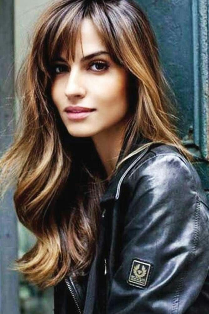 my style in 2020  long hair with bangs hairstyles with