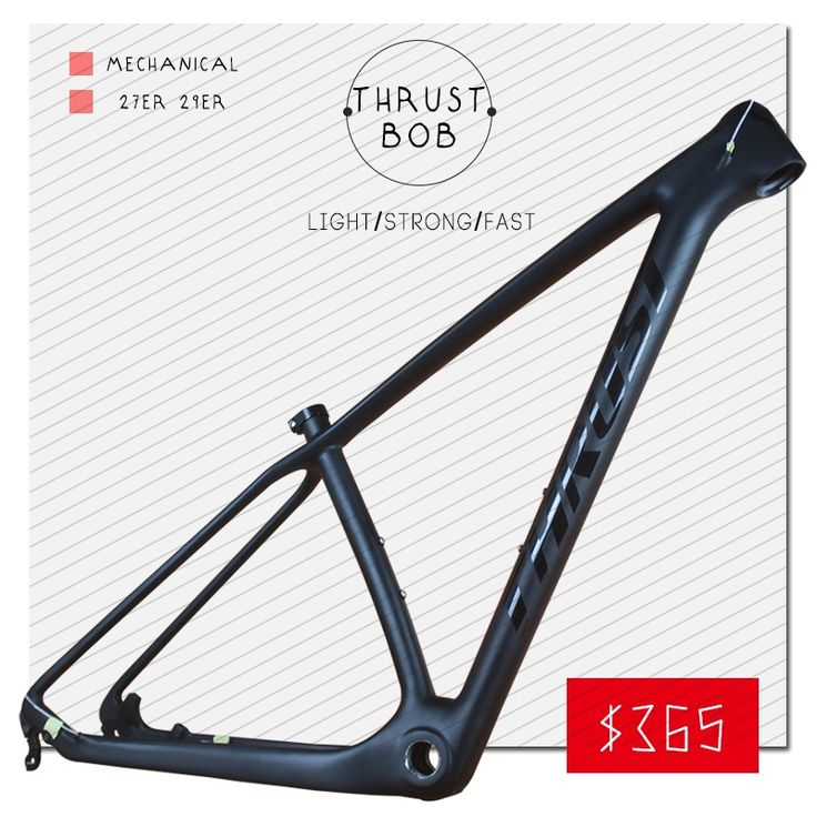 (261.00$)  Watch now  - THRUST BOB 29er Chinese Carbon Frames 15/17/19 INCHES 29 Carbon Mountain Bike Frameset Free Shipping Carbon MTB Frame