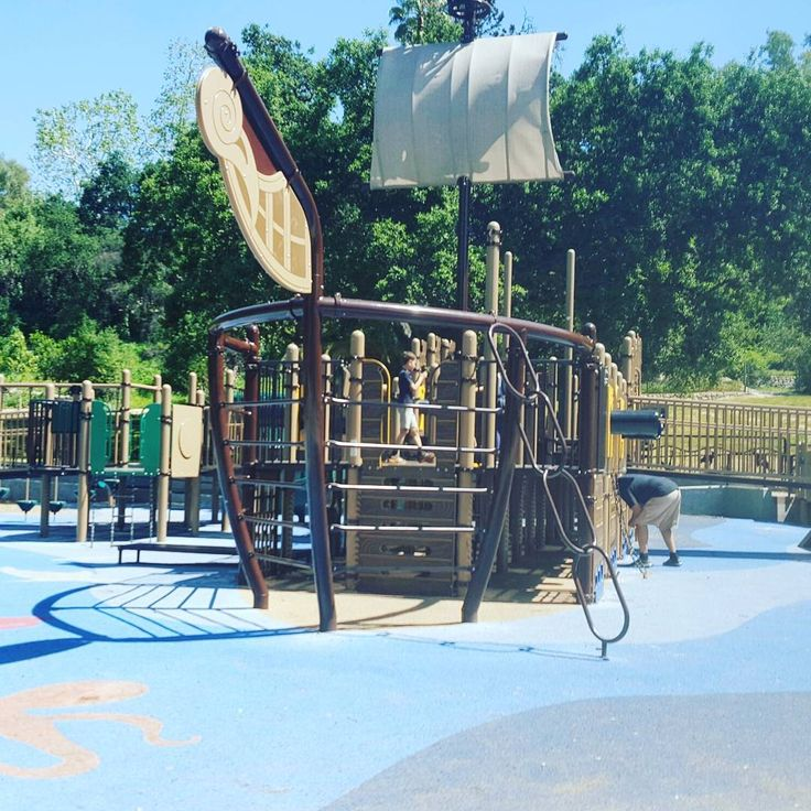 "6 Likes, 1 Comments - Cakewalk Parenting (@cakewalkparentingofficial) on Instagram: ""We love this pirate park in Pasadena California.  It's right behind the Rose Bowl Aquatics Center.…"""