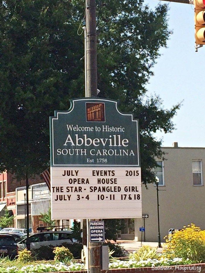 Visiting Abbeville, SC   Family Search   South carolina