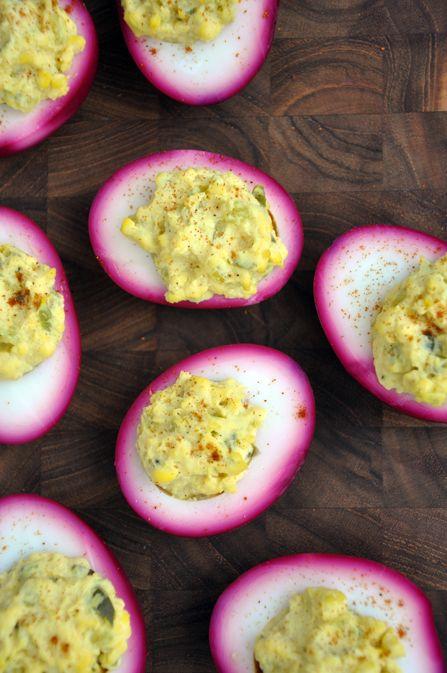 Pickled Deviled Eggs
