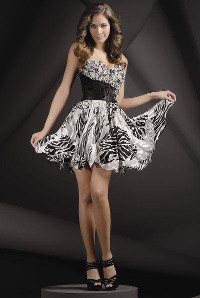 1000  ideas about Zebra Print Dresses on Pinterest  Zebra print ...