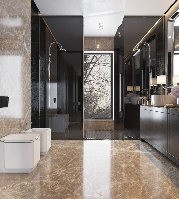 Elegant bathroom design with modern style.... | Visit : roohome.com #bathroom…