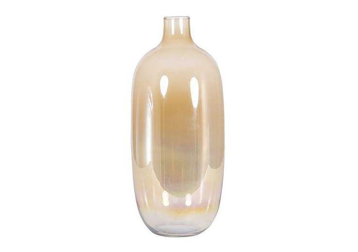 Furniture Village Glasgow ripples cylindrical large nickel vase, £139 | global traveller
