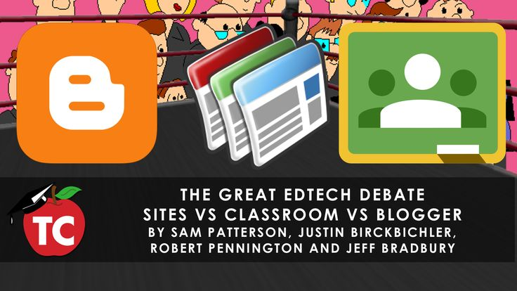 Should your teachers be using Google Sites, Google Classroom, or Blogger for their classroom technology solution | TeacherCast.net