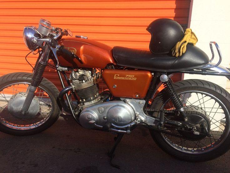 1972 Norton Commando Cafe Racer for sale via Rocker.co
