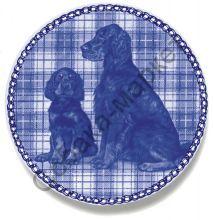 Гордон сеттер тарелка фарфор Дания