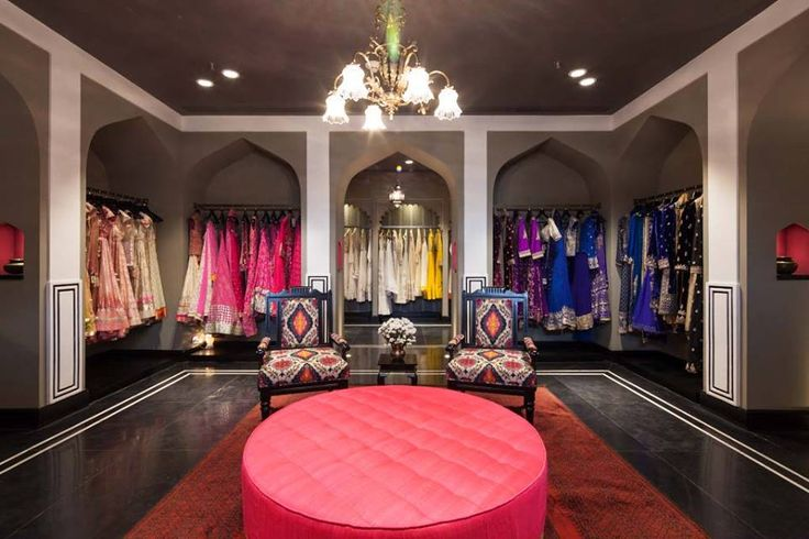 """Calling it a retail space is an understatement as it's no less than a mini palace on its own."" - Verve magazine on the Anita Dongre store at DLF Emporio in Delhi.  #AnitaDongre #Bridal #Heaven #Interiors #Luxury #Store #WeddingInspiration #Jaipur #Inspired"