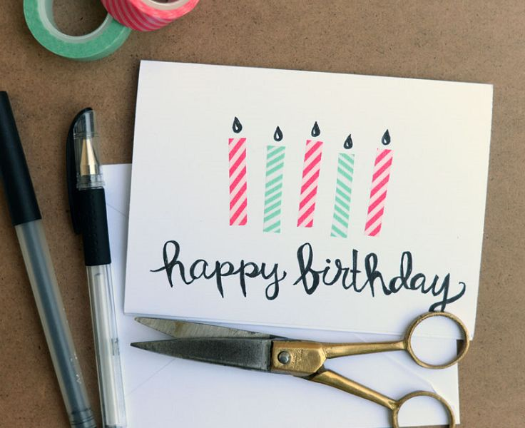 Top 10 DIY Birthday Cards Easy To Make                              …