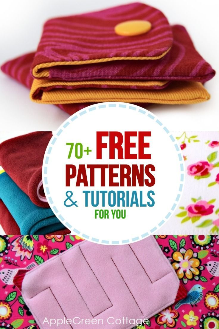 These are the FREE sewing patterns and tutorials made by me. Mostly beginner sew…