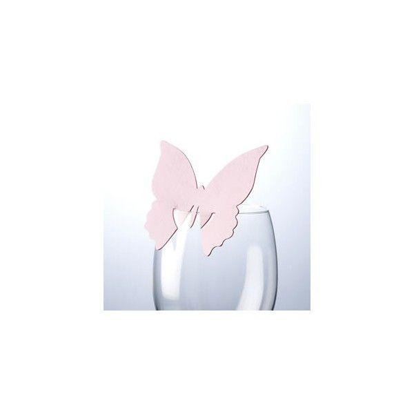 Questo segnaposto pratico ed originale è realizzato in carta è presenta un design  a forma di Farfalla dove poter scrivere il nome del vostro invitato lasciando ad  amici e parenti un simpatico ricordo.   Colore: Rosa     Venduto in confezioni da 10 pezzi.   Non vendibile singolarmente.   Il prezzo si riferisce ad un pacco contenente 10 segnaposto.   Misure: 8 x 8 cm.