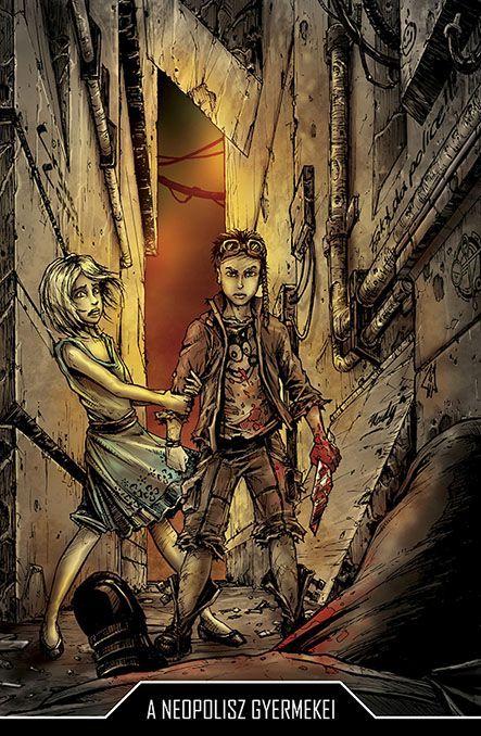 Bloodlust: Cryweni történetek antológia - A neopolisz gyermekei novellaborító