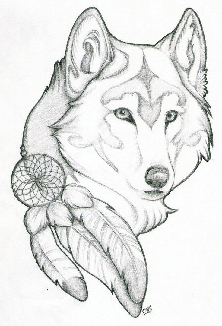 I Truly Have An Appreciation For The Pigments Outlines And Detail This Is Definitely A Superb Artwork If You Want I Wolf Tattoo Design Drawings Wolf Sketch