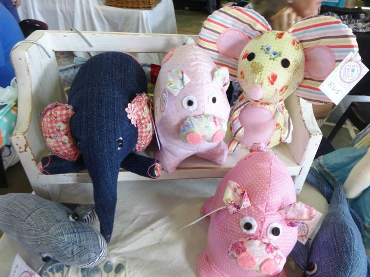 Our pigs have been popular as well as the mice, elephants and whales.