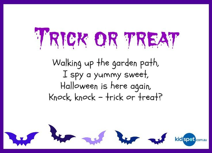 95 best happy halloween poems images on pinterest halloween poems happy halloween and trick or treat - Funny Halloween Poems For Kids