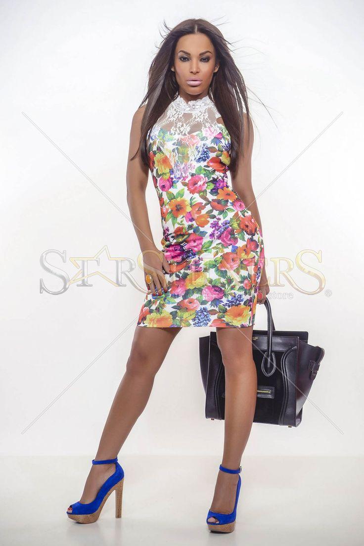 MissQ Flower Age White Dress
