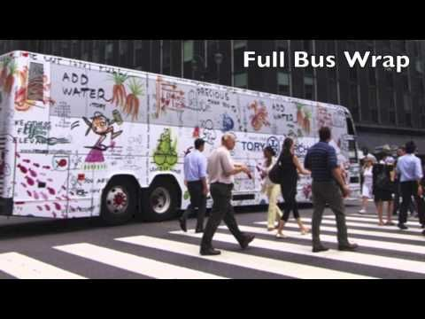 Full Bus Wrap Advertising on the Hampton Jitney or the Hampton Luxury Liner with InspiriaMedia