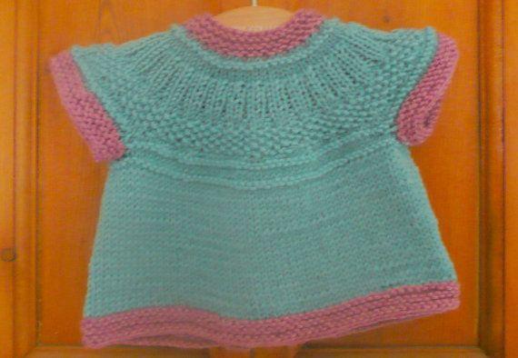 Tejer patrón suéter de la Rebeca Seren de arriba hacia por ceradka