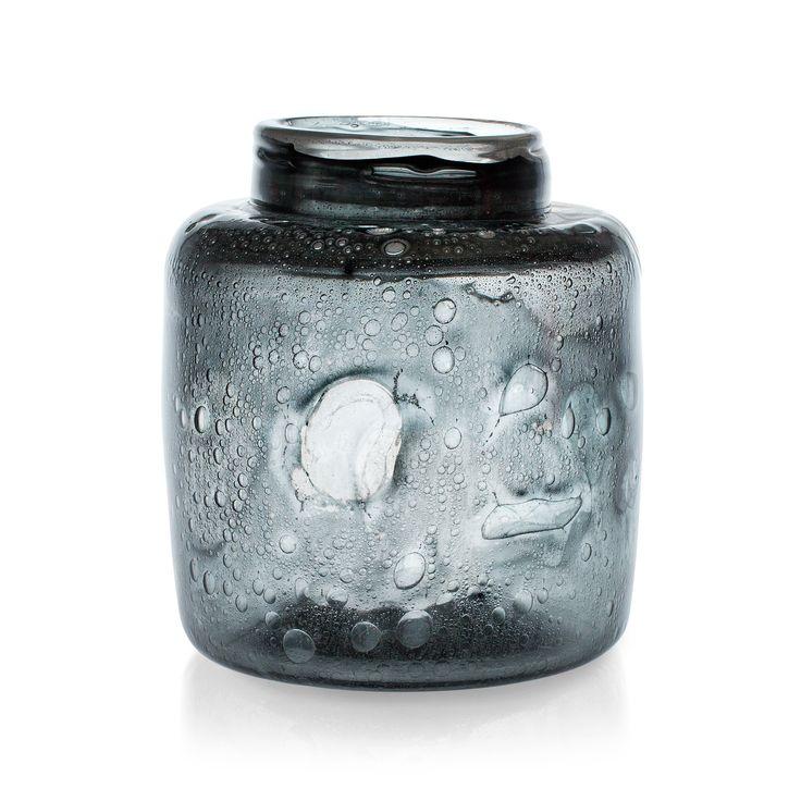 Kaj Franck; Hand-Blown Glass Vase for Nuutajärvi, 1970s.