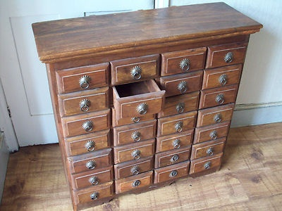 Awesome solid Wood Apothecary Cabinet