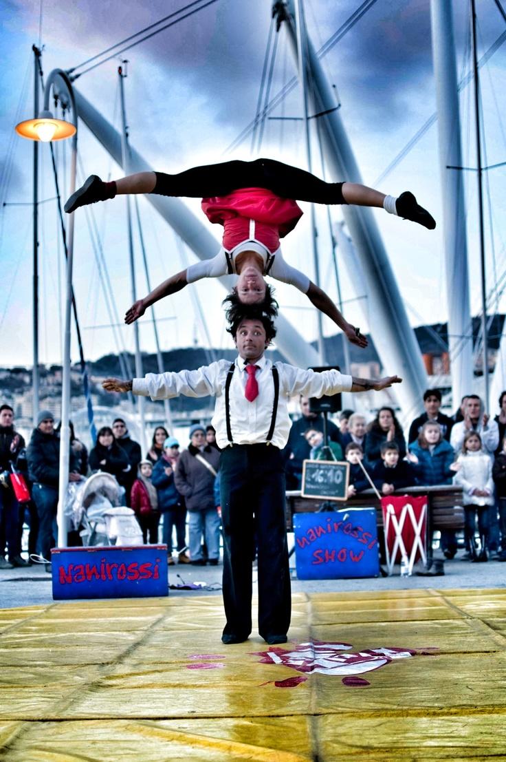 Street Show in Genoa