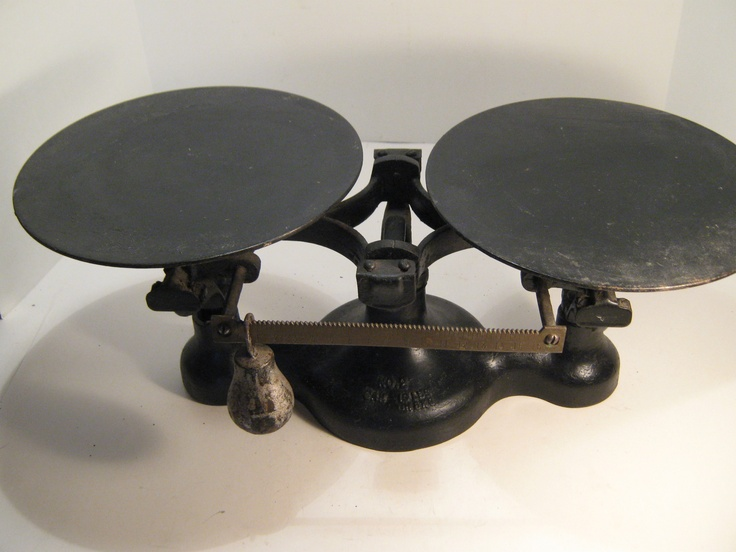 Antique Detecto Scales By Jacobs Brothers Inc Ny No 2