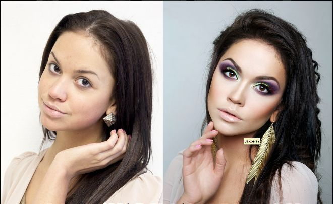 Although here at the SF Globe we believe that every woman with confidence is beautiful, we have to admit that some makeup artist do real magic. This before and after pictures from the Russian makeup artist Vadim Andreev are seriously impressive.