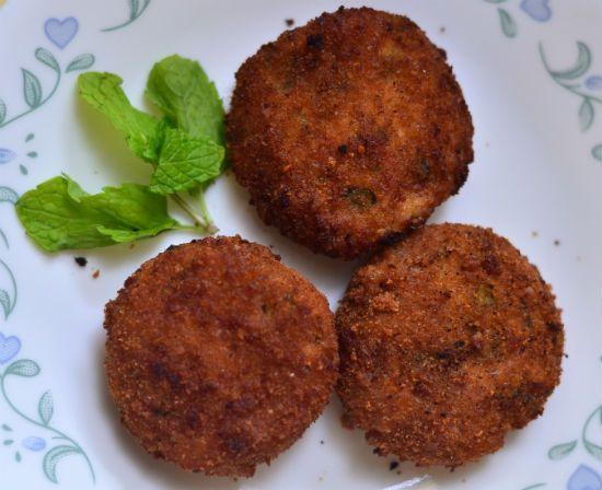 Varagu Vegetable Cutlet (Kodo Millet Vegetable Cutlet) Recipe