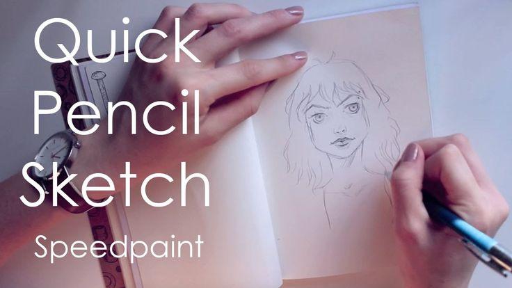 Quick Sketch Speedpaint