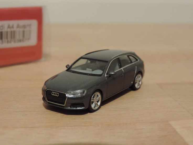 Audi A4 Avant * monsun grau * OVP 1:87 * Herpa - 038577
