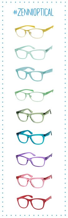 Life is all about the choices! #ZenniOptical