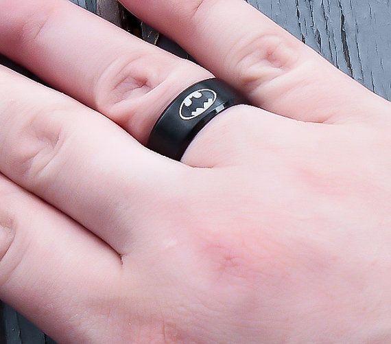 Superhero Ring - Stainless Steel hero Ring - Superhero Ring - Mens Superhero Ring - Ring for him - Superhero Jewelry - Stainless Steel Ring