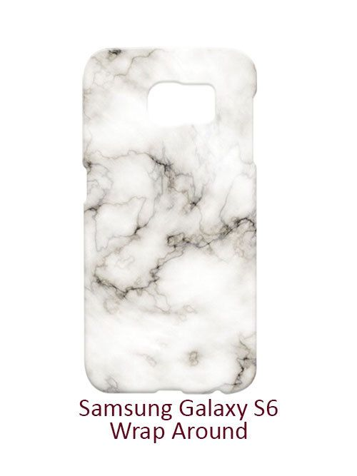 White Marble Samsung Galaxy S6 Case Cover